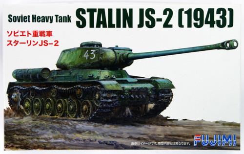 "Fujimi SWA27 Special World Armor Soviet Heavy Tank Stalin JS-2 1943"" 1/76 scale kit"""