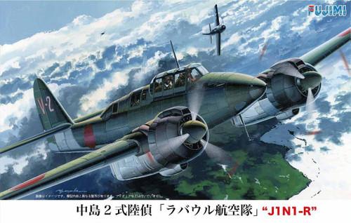 Fujimi C19 Nakajima Type 2 J1N1-R Rabaul 1/72 scale kit