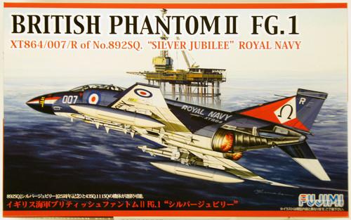 "Fujimi F59 British Phantom II FG.1 Silver Jubilee"" Royal Navy 1/72 kit """