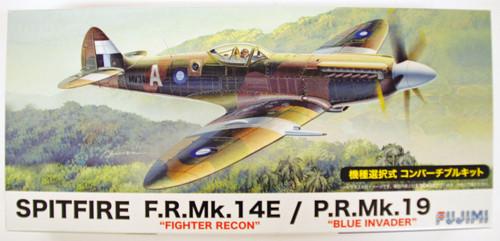 Fujimi F60 Spitfire F.R.Mk.14E (Fighter Recon) / P.R.Mk.19 (Blue Invader) 1/72 scale convertible kit
