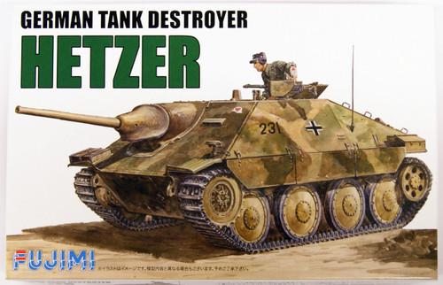 "Fujimi WA03 World Armor German Tank Destroyer Hetzer"" 1/76 scale kit """