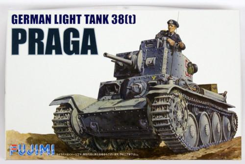 "Fujimi WA04 World Armor German Light Tank 38t Praga"" 1/76 scale kit """