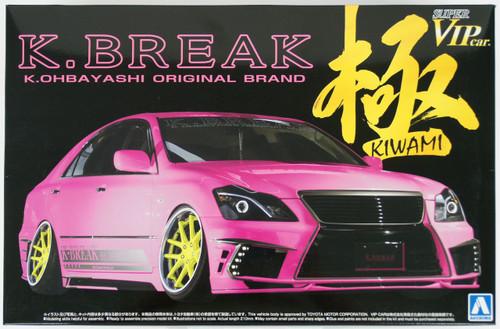 Aoshima 11683 Toyota 18 Crown Hyper Zero Custom Version 2 K-Break Kiwami 1/24 Scale Kit