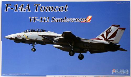 Fujimi F01 F-14A Tomcat VF-111 Sundowners 1/72 scale kit