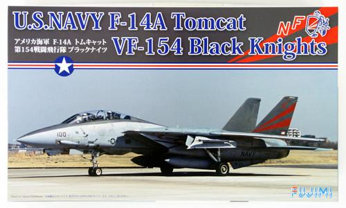 Fujimi F03 F-14A Tomcat VF-154 Black Knights 1/72 scale kit
