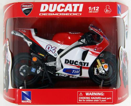 Aoshima Skynet 97229 2015 Ducati Desmosedici GP15 Andrea Dovizioso (No.4) 1/12