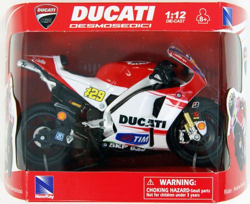 Aoshima Skynet 97236 2015 Ducati Desmosedici GP15 Andrea Iannone (No.29) 1/12