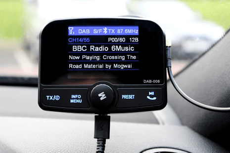JustDAB - Plug & Play Digital Radio For Your Car