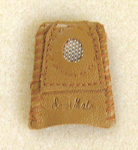 Finger Thimble with Metal Plate