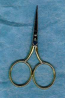 Large Loop Italian Fishing Scissors