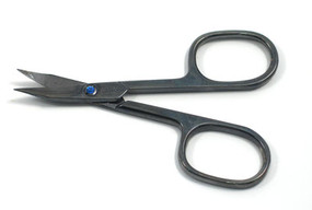 4 Inch Black Titanium Finish Scissors