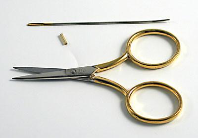"3 1/2 "" Italian-Made Needleart Sew Scissors"