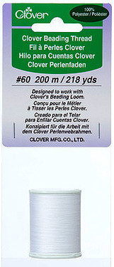 Clover Beading Thread is designed to work with Clover's Beading Loom.