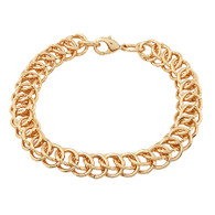 Gold Links Bracelet