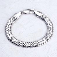 Silver Braid Bracelet