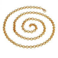 Golden Link Necklace