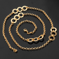 Circles Link Necklace