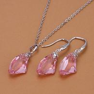 Swarovski Crystal Pink Set