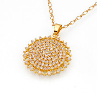 Elegant Gold Pendant Necklace
