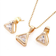 Gold Triangle Set