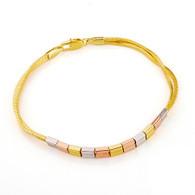 Tricolor Boxes Bracelet