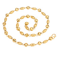 Gold Multi Bead Necklace