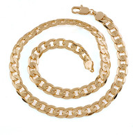 Textured Curb Necklace