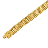 Gold Strand Bracelet