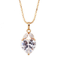 Beautiful Crystal Pendant Necklace