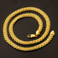 Gold Interlocking Necklace