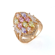 Gold Fleur Ring