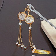 Lovely Crystal Dangling Earrings