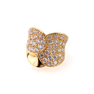 Gold Butterfly Style Ring