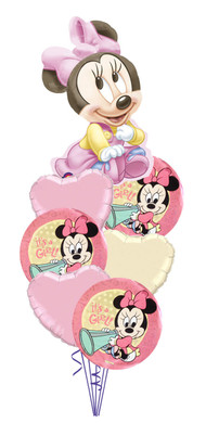Baby Girl Disney Baby Minnie Mouse Bouquet
