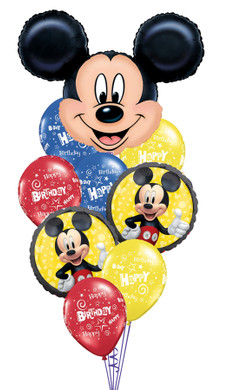 Mickey Mouse Head Birthday Bouquet
