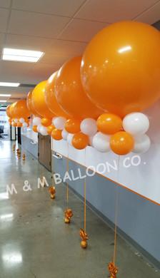 Two Row Balloon Kite