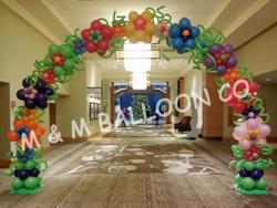 Fantasy Flower Arch
