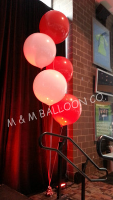 36 inch Helium Filled Floor Bouquets