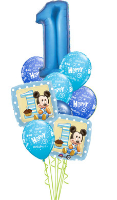 - 1st Birthday Baby Mickey Bouquet