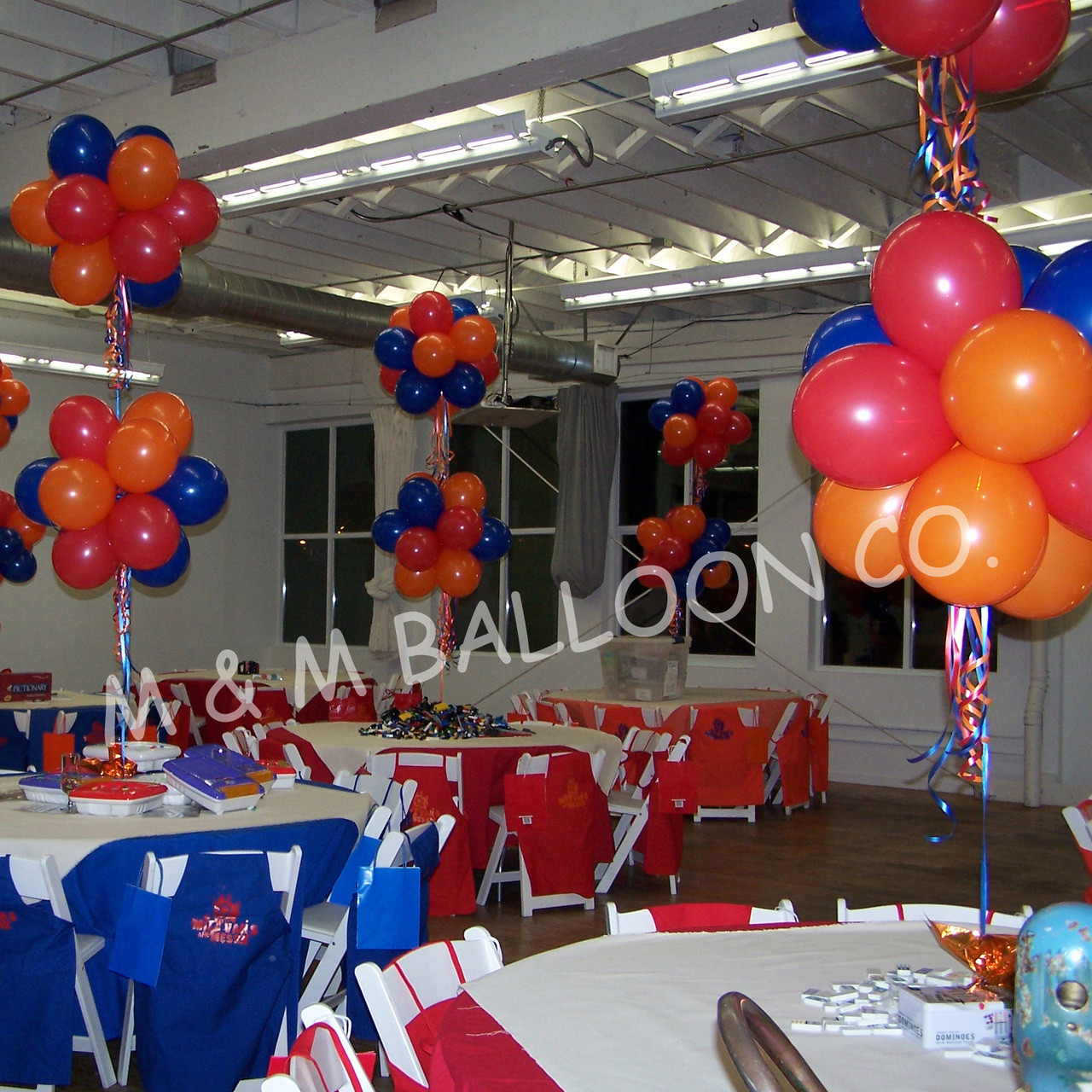 Topiary Centerpieces Double M M Balloon Co Of Seattle