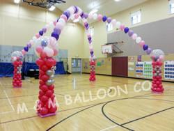 Bubble Gum Machine Dance Floor Canopy