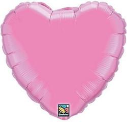 Solid Foil Heart Rose