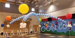 Hot Air Balloon Dance Floor Canopy