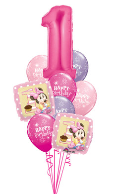 - 1st Birthday Baby Minnie Bouquet