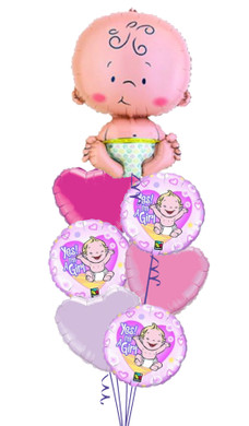 Baby Girl Yes! I'm a Girl Bouquet