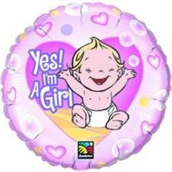 """Baby Girl """"Yes!"""""""