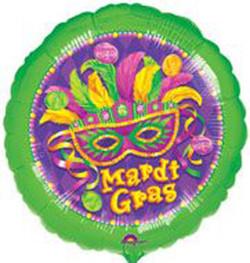 Mardi Gras Masquerade Round
