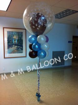 Three Row Balloon Kite