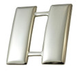 "Captain, Pin & Safety Catch, Pairs, Nickel Plated, 1""H"