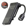 Clipmate Flashlights - USB w/120V AC, Black, White & Red LED